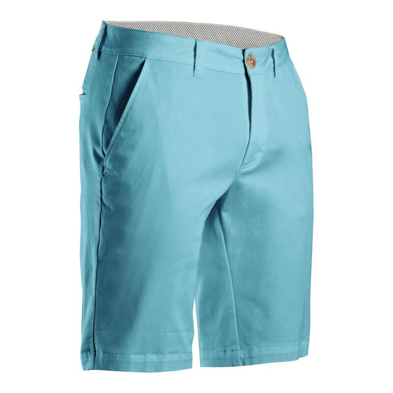 Golfshort voor heren MW500 turquoise