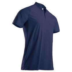 男款極輕量高爾夫Polo衫-軍藍色