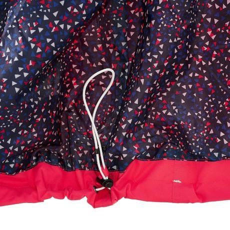 veste pluie imperm able randonn e femme arpenaz 300 rose framboise quechua. Black Bedroom Furniture Sets. Home Design Ideas