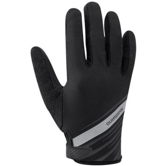 Mountain Bike Summer Gloves - Black