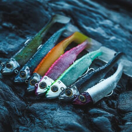 Ancho 90 sea fishing shad lure combo