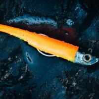 Leurres Ancho120 30g type anchois bleu/orange pour la pêche en mer