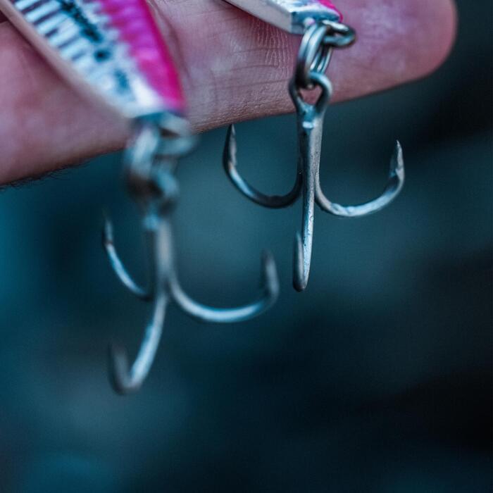Amostra Casting Jig Pesca no Mar com Amostra BIASTOS 40 g Rosa