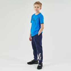 pantalon de jogging Puma bleu marine garçon imprimé