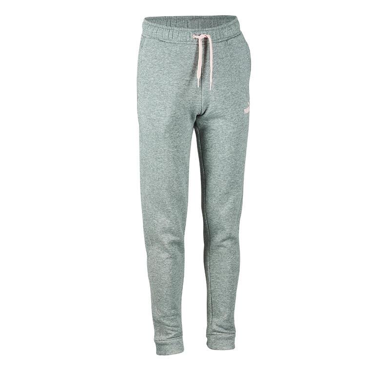 pantalon de jogging Puma gris fille imprimé