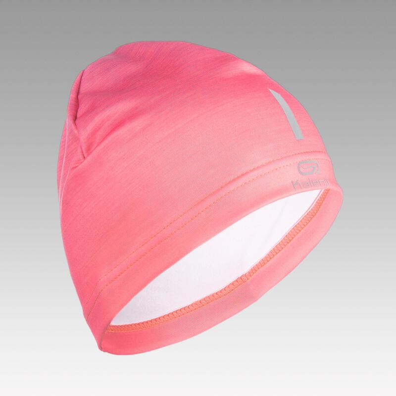 Bonnet Athlétisme enfant rose