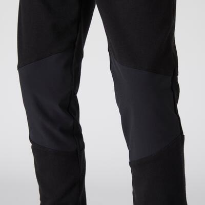Pantalón ligero amplio algodón transpirable GIMNASIA INFANTIL 500 niño negro