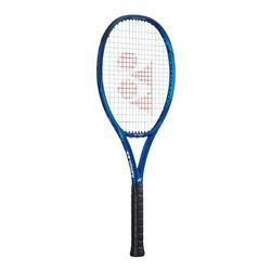Raquette de tennis adulte EZONE 100 bleue non cordée