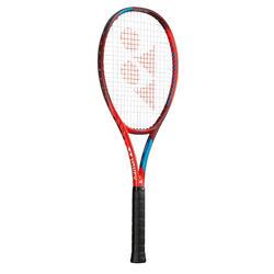 Raquete de ténis adulto VCORE 100 vermelho SEM CORDAS