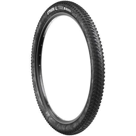Wire bead mountain bike tire 26 x 2