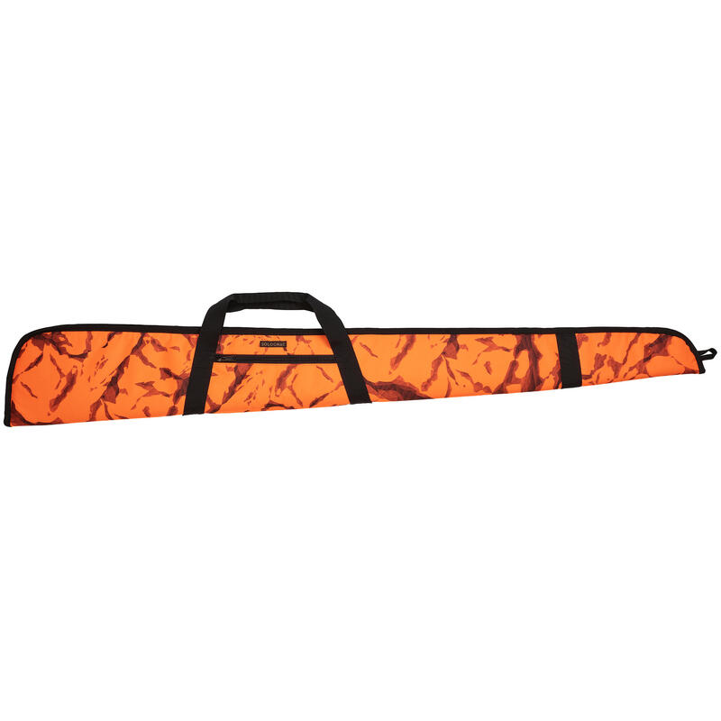 Fourreau chasse fusil 125 cm camo orange