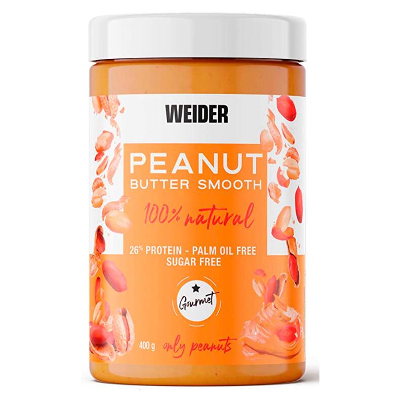 Crema Mantequilla de cacahuete Weider 400 gramos