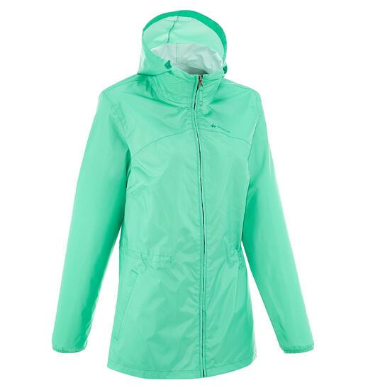 Waterdichte wandeljas voor dames Raincut Zip - 203601