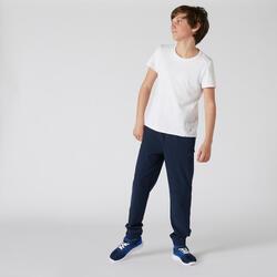 T-shirt enfant coton - Basique blanc