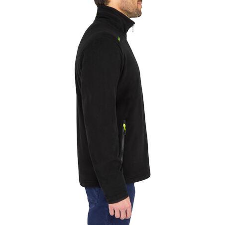 Men's sailing warm fleece Sailing 100 - Black