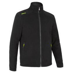 男款節能設計保暖刷毛航海外套100-黑色