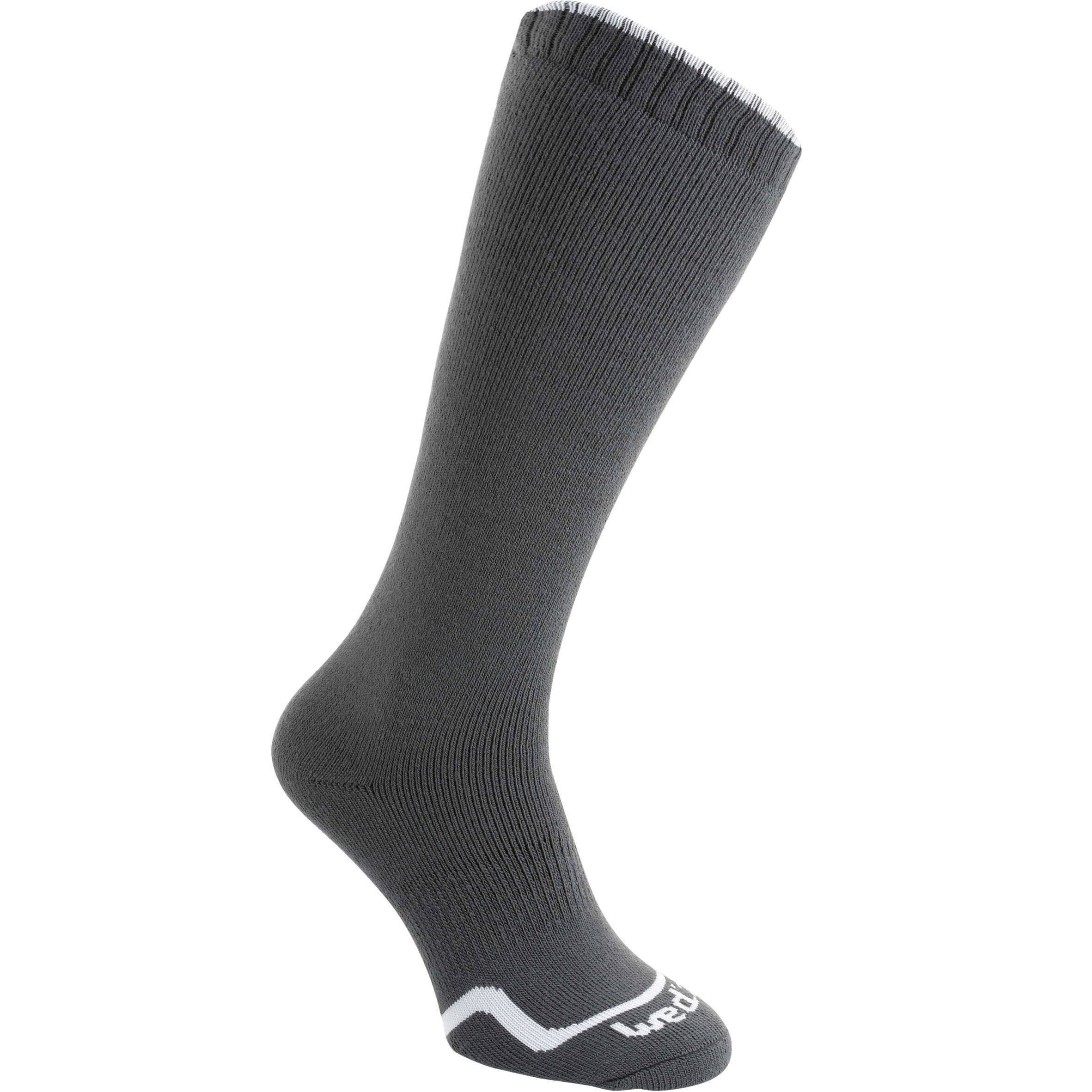 ADULT SKI SOCKS 50 GREY