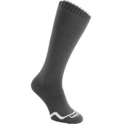 CHILDREN'S FIRSTHEAT SKIING SOCKS, CHARCOAL GREY