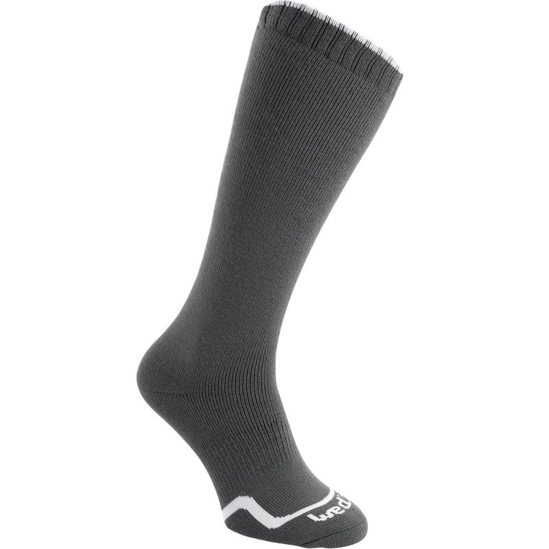 Children's Skiing Socks, Charcoal Grey