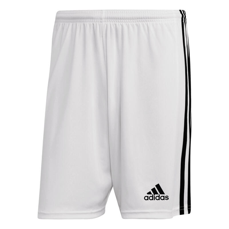 Short de football adidas SQUADRA blanc homme