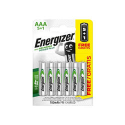 Piles rechargeables Energizer 5+1 AAA/HR3 700mAh