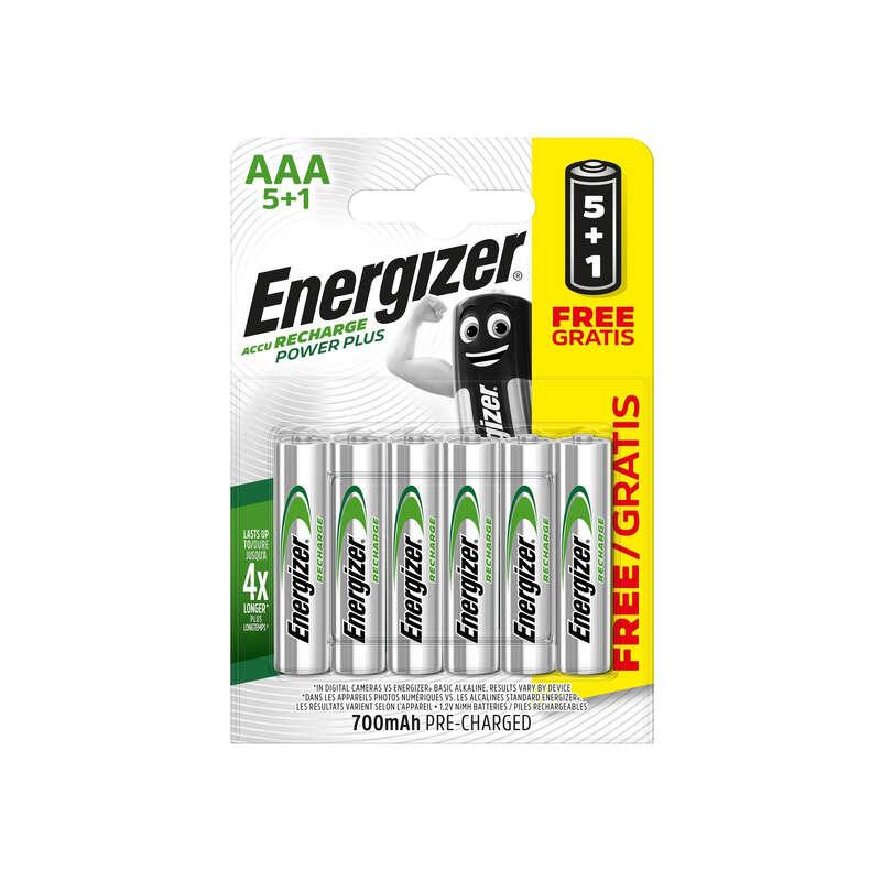 ÎNCĂRCĂTOARE, BATERII ȘI PANOURI SOLARE TREKKING - Baterii Nimh  5+1 AAA 700 mAh ENERGIZER