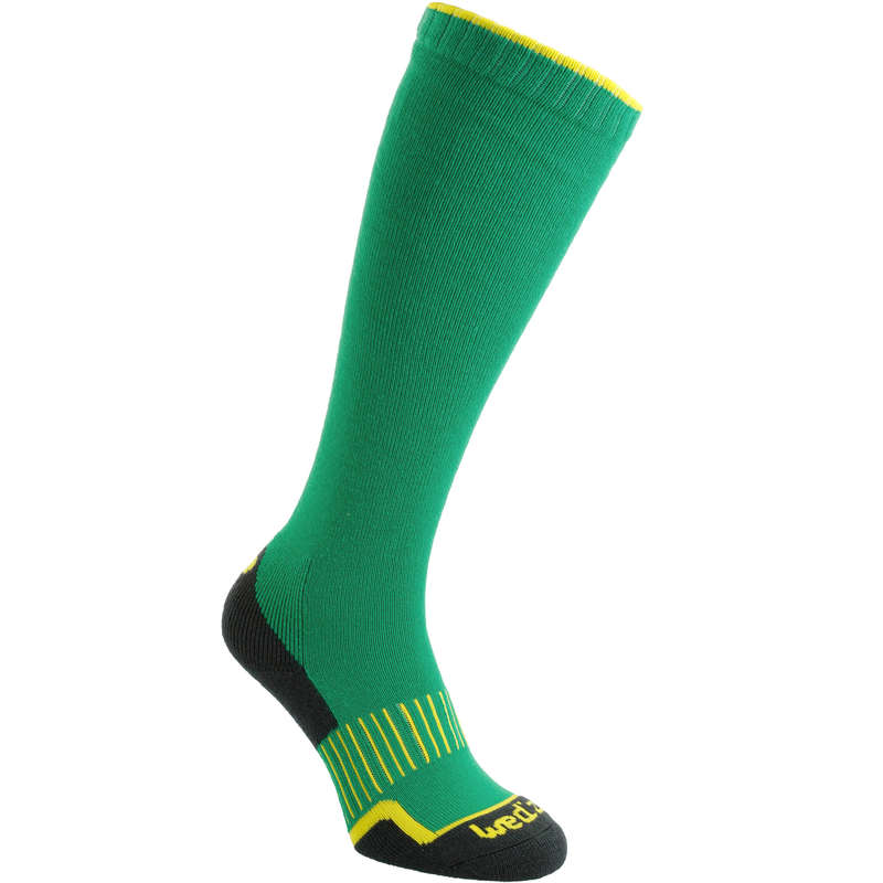 CALZE SCI ADULTO Sci, Sport Invernali - Calze sci 100 verdi WEDZE - Abbigliamento sci donna