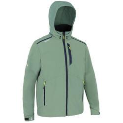 Men's Sailing windproof Softshell jacket 900 - khaki