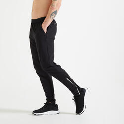 Slim-Fit Fitness Training Bottoms - Black