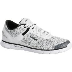 Soft 540 Women's Fitness Walking Shoes - Mottled White