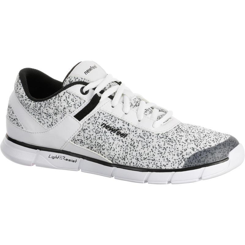 Zapatillas Caminar Soft 540 Mujer Blanco Moteado