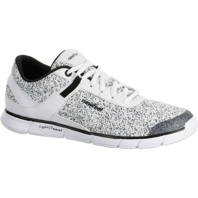 WOMEN SPORT WALKING SHOES Hiking - Soft 540 - mottled white NEWFEEL - Outdoor Shoes