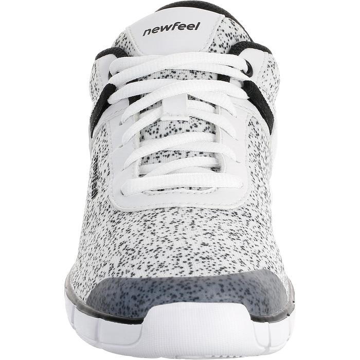 Chaussures marche sportive femme Soft 540 blanc moucheté - 203753
