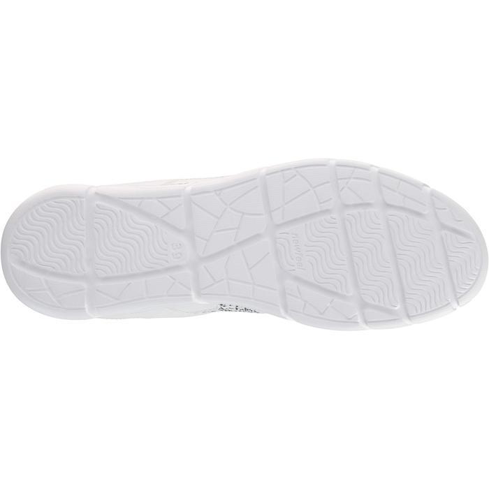 Chaussures marche sportive femme Soft 540 blanc moucheté - 203755