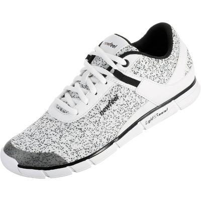 Tenis para Caminar Soft 540 Mujer Blanco Moteado