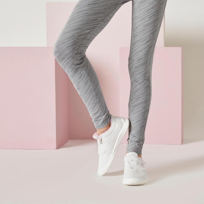 Leggings atmungsaktiv Kinder grau