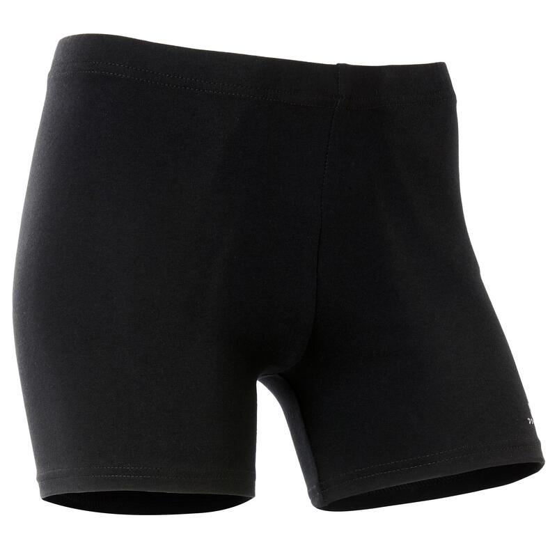 Short basique noir fille