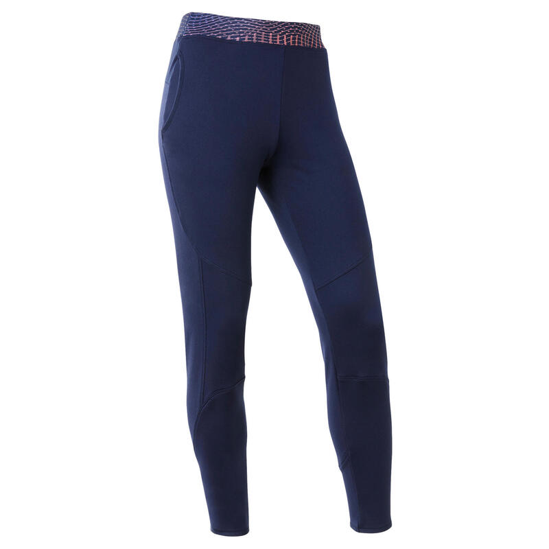 Pantalon Călduros Respirant S500 Navy Fete