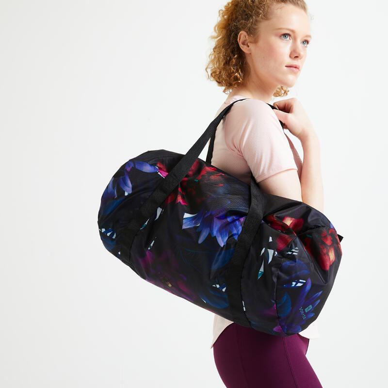 Sac de fitness imprimé jungle pliable 30L,à associer avec nos panoplies textiles