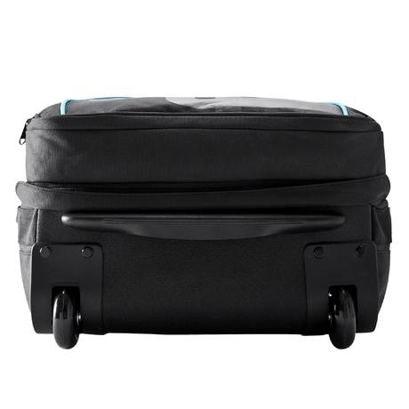 valise roulettes sac dos sport 35l noir bleu newfeel. Black Bedroom Furniture Sets. Home Design Ideas