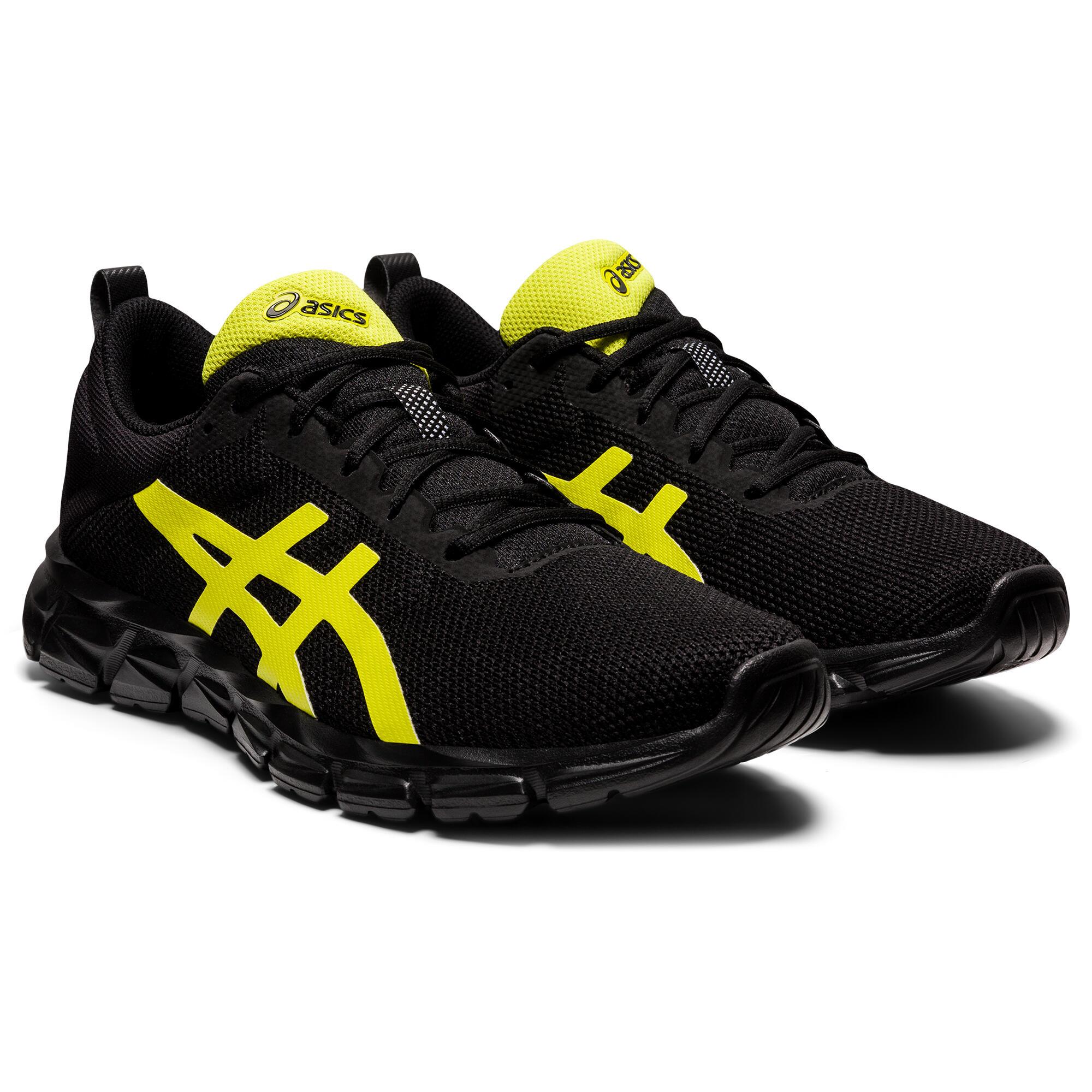Chaussures marche sportive homme Asics Quantum Lyte noir jaune
