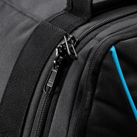 valise roulettes sac dos sport 35l noir bleu newfeel. Black Bedroom Furniture Sets. Home Design Ideas
