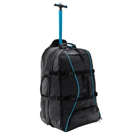 bas prix 78b2b def04 Valise à roulettes/ Sac à dos Sport 60L noir / bleu