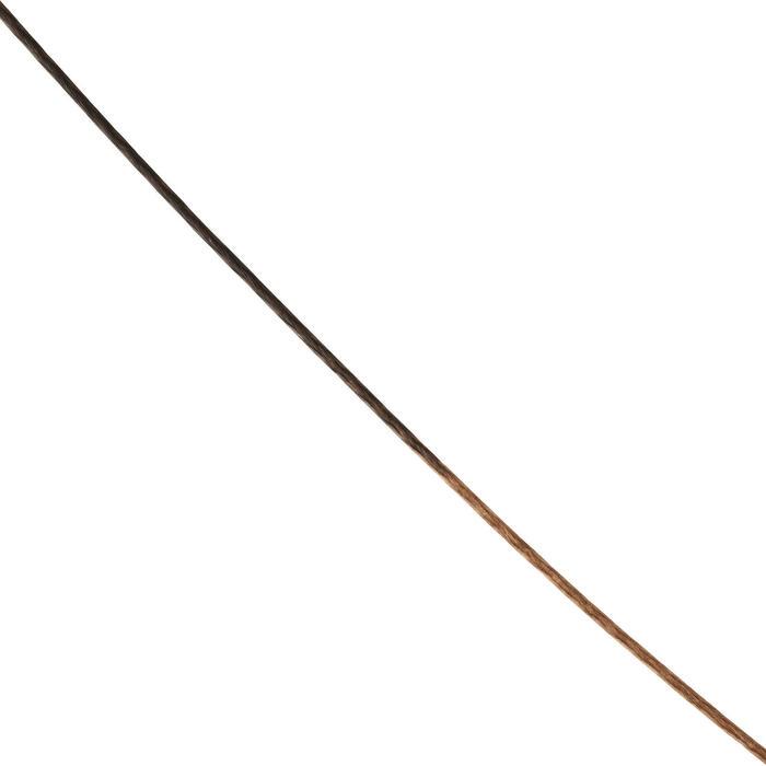 Bas de ligne Tresse Flow marron/sable Pêche de la carpe