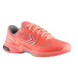女款網球鞋TS990-珊瑚橘