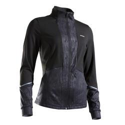 Thermo tennisjas voor dames TH 500 zwart