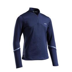 T-shirt termica tennis bambina 500 blu