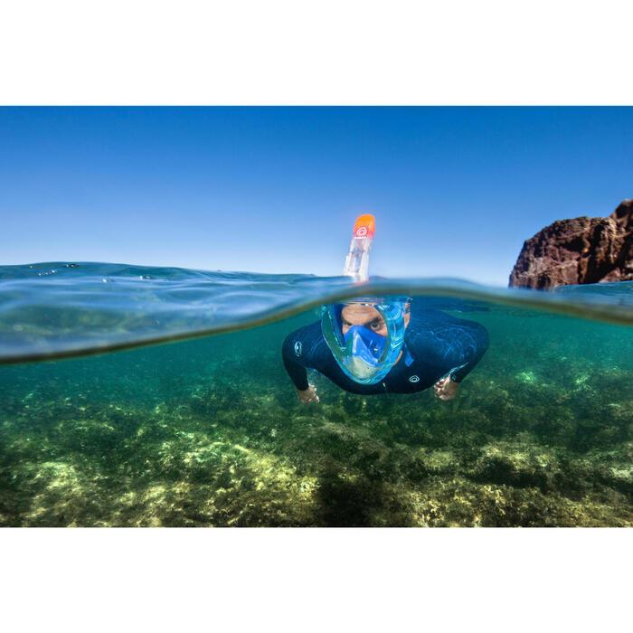 Máscara de Snorkeling à superfície Easybreath 500 Swell