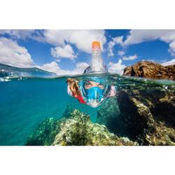 Máscara de Snorkeling à superfície Easybreath 500 Flower