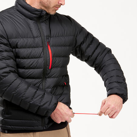 Men's Mountain Trekking Down Jacket - TREK 500 -10°C Black